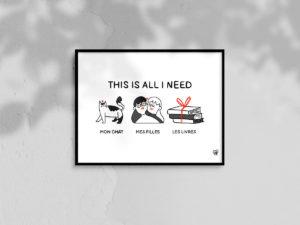 Affiche A4 - Crise de bonheur - 01