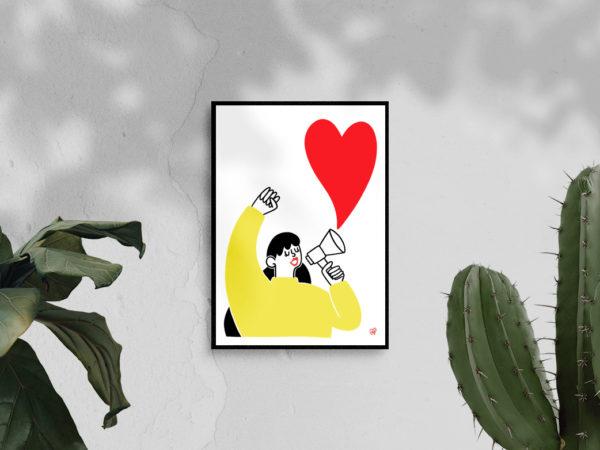 Illustration - Crions notre amour - A5