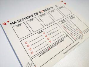 Semainier - bloc A5 - 03